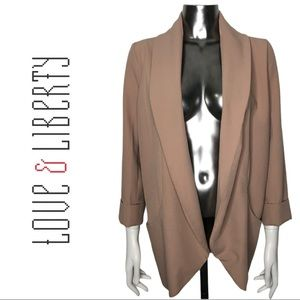 🔥Bundle 3 or More Save40%🔥Open Blazer Dusty Pink